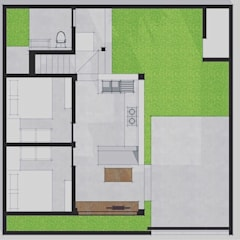 Layout Plan:  Single family home by Companion Architecture Studio