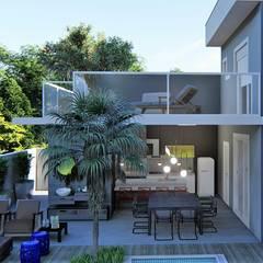 Teras by Trivisio Consultoria e Projetos em 3D