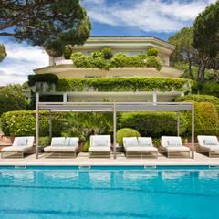 058. HOUSE - CABRILS: Villas de estilo  de Abrils Studio