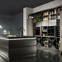 L'ottocento-Chronos: Cucina attrezzata in stile  di ROOM 66 KITCHEN&MORE