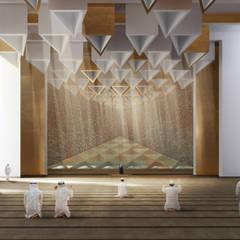 Концепция современной мечети в Дубае: Стены в . Автор – ECOForma