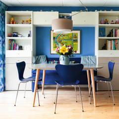 Eethoek: eclectische Eetkamer door Regina Dijkstra Design