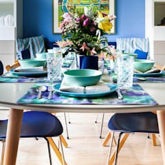 Dining room by Regina Dijkstra Design