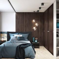 Dormitorios de estilo  por GraniStudio