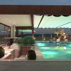 Garden Pool by Grecco + Marques Arquitetos