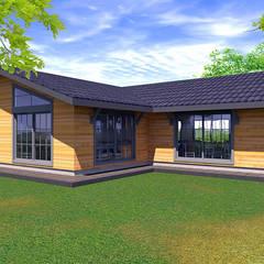 Bider Mimarlık İnşaat Ltd. Şti. – Ahşap Bina:  tarz Yeme & İçme