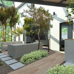 Wintergarten / Atrium:  Wintergarten von Architekturbüro Milan Schmitt