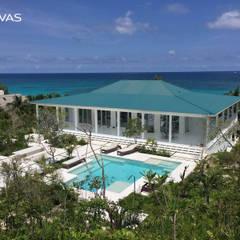 Haciendas de estilo  por CHUVAS arquitectura