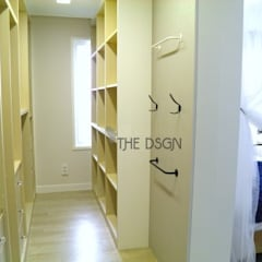 eclectic Dressing room by 더디자인 the dsgn