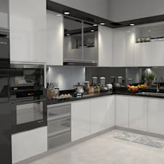 Built-in kitchens by sergio augusto arevalo gutierrez