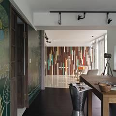مكتب عمل أو دراسة تنفيذ 禾光室內裝修設計 ─ Her Guang Design, أسيوي