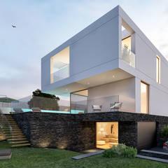 CASA RB1: Casas  por Traçado Regulador. Lda
