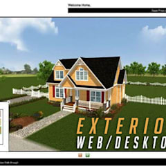 Virtual Interactive Desktop & WebGL Application For Exterior Elevation By Yantram Virtual Reality Studio - New Yoek, USA:  Clinics by Yantram Architectural Design Studio