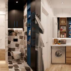 scandinavian Bathroom by Design Service