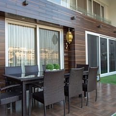 4 BHK Luxurious Project:  Terrace by Area Planz Design