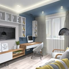minimalistic Nursery/kid's room by RENDER