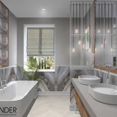 Baños de estilo escandinavo por RENDER