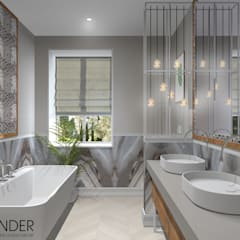 scandinavian Bathroom by RENDER