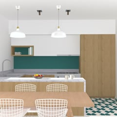 Built-in kitchens by Marty déco