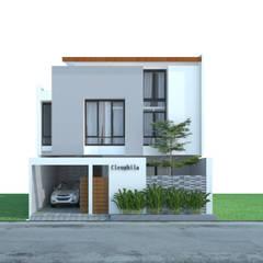 Cleophila house, Surakarta, Jawa Tengah, Indonesia:  Rumah tinggal  by sawang architect