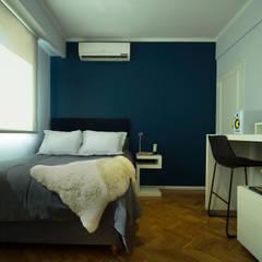 Proyecto Habitación Cerviño: Dormitorios de estilo  por Estudio Equilibrio,Moderno