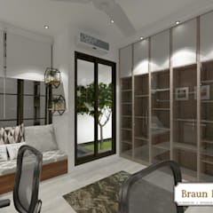 Urban House: Ruang Kerja oleh Braun Haus,