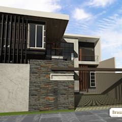 Urban House:  Rumah by Braun Haus