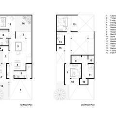 BBR House 1:  Rumah tinggal  by Rekabentuk ID