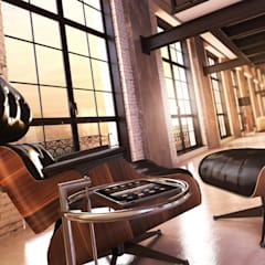 Innenraumperspektiven Loft:  Geschäftsräume & Stores von supervisuell