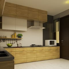YN House, Interior Design:  Dapur built in by dk.std.id