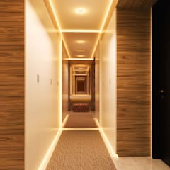 YN House, Interior Design: Ruang Ganti oleh dk.std.id,
