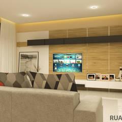 YN House, Interior Design: Ruang Keluarga oleh dk.std.id,