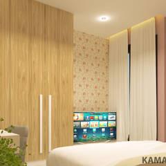 YN House, Interior Design:  Kamar tidur anak perempuan by dk.std.id