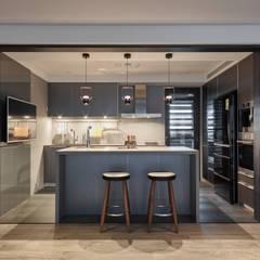 ห้องครัว by 耀昀創意設計有限公司/Alfonso Ideas
