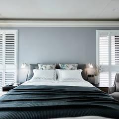 Dormitorios de estilo  por 耀昀創意設計有限公司/Alfonso Ideas