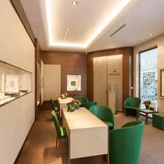 Tolga Archıtects – Rolex İstinye Park: modern tarz Çalışma Odası