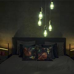 Woonhuis in Hengelo:  Slaapkamer door Molitli Interieurmakers