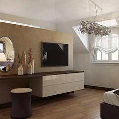 Tolga Archıtects – Bakü S House: modern tarz Yatak Odası