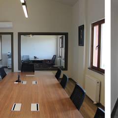 Tolga Archıtects – Adatarım Farm Administrative and Accommodation Buildings: modern tarz Çalışma Odası