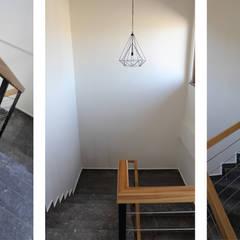 Tolga Archıtects – Adatarım Farm Administrative and Accommodation Buildings:  tarz Merdivenler