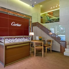 Tolga Archıtects – Rolex Suadiye: modern tarz Çalışma Odası