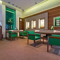 Tolga Archıtects – Rolex Suadiye:  tarz Çalışma Odası