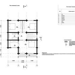 Индивидуальный дом из клееного бруса: Дома на одну семью в . Автор – Home Architect