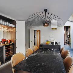 Clapham victorian townhouse - Full refurbishment:  Kitchen units by Maklin & Macrae