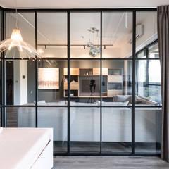 غرفة نوم تنفيذ 果仁室內裝修設計有限公司