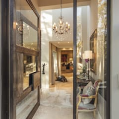 The Classic Appeal of House Parkwood :  Glass doors by Spegash Interiors, Classic