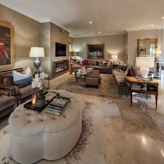 Living room by Spegash Interiors, Classic