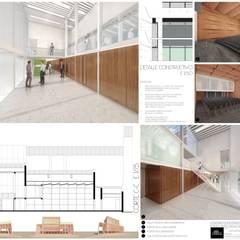 Concurso REMODELACIÓN TEATRO LASSERRE (2° premio) Salones de eventos de estilo moderno de Mauricio Morra Arquitectos Moderno