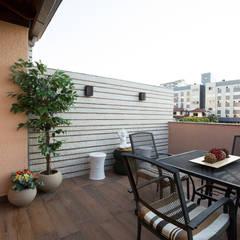 Terraço - Residência Tristeza: Terraços  por INOVA Arquitetura