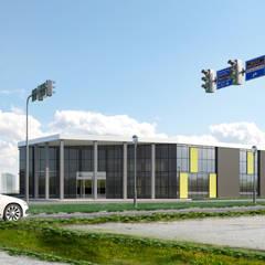 MİMAR TUĞBA ÖZKILIÇ – Çiğli Ofis Projesi:  tarz Ofisler ve Mağazalar